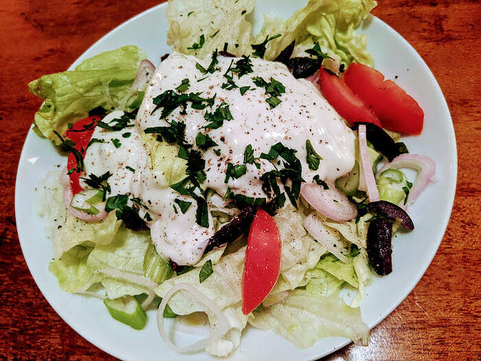 gr. salad with BC