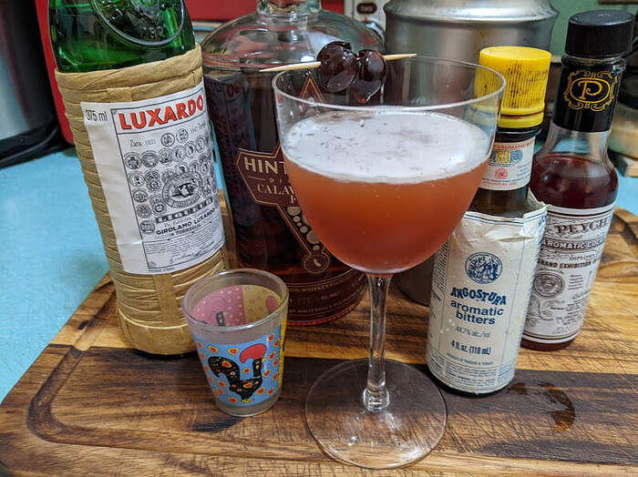 Fancy Free cocktail