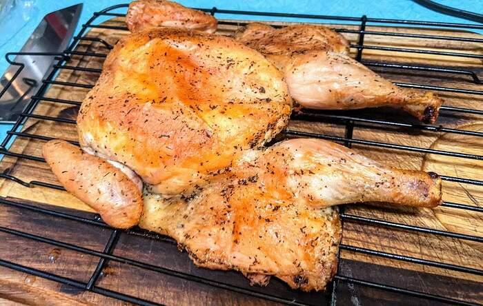 Olivier Spatchcocked Chicken 1
