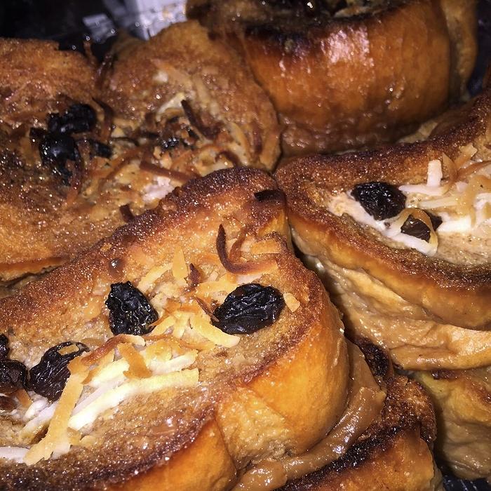 bread pudding La flor bakery