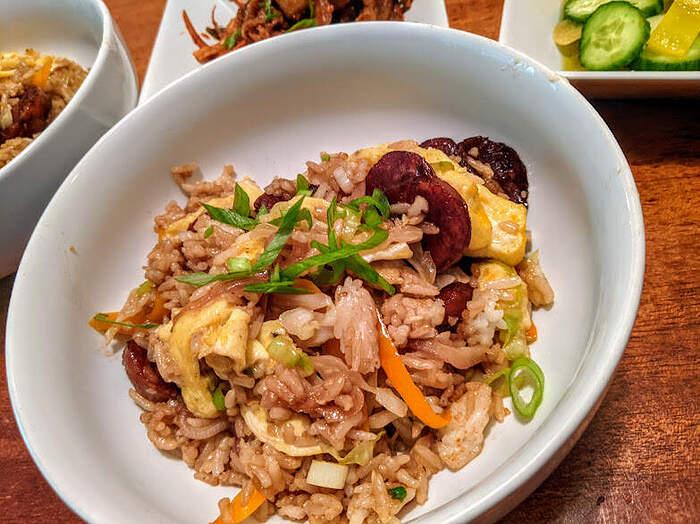 Longanisa fried rice 2