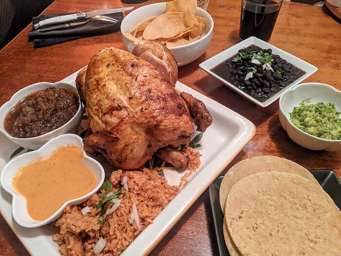 Tacolicious Chicken Dinner