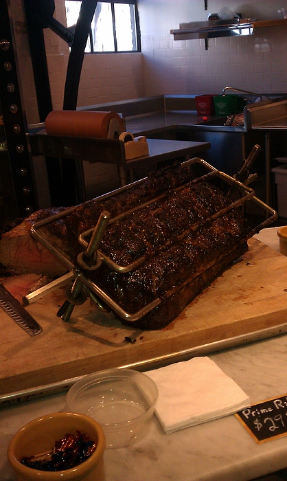 Tarry Market prime rib