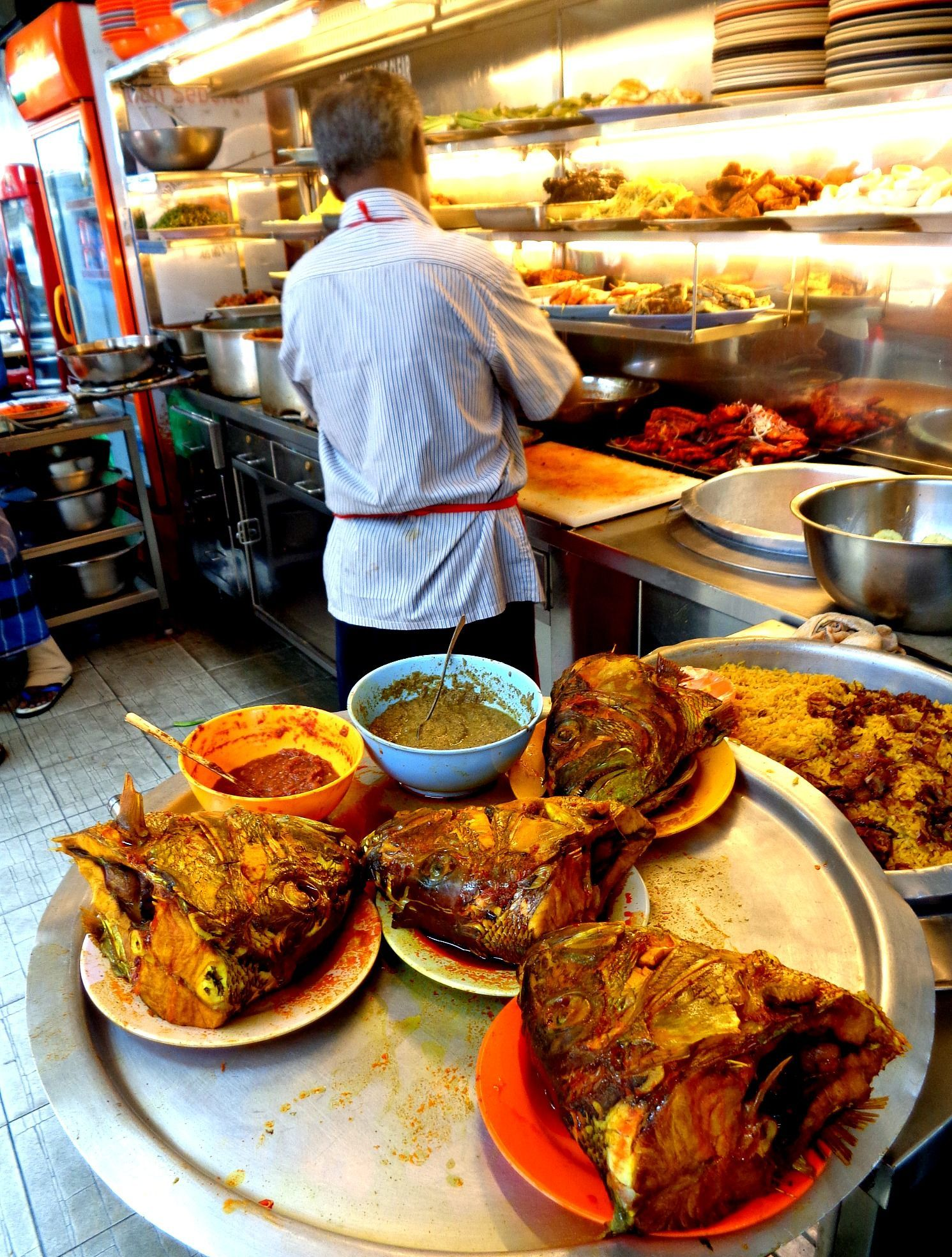 [Penang] Lunch at Line Clear Nasi Kandar - Asia Pacific - Hungry Onion