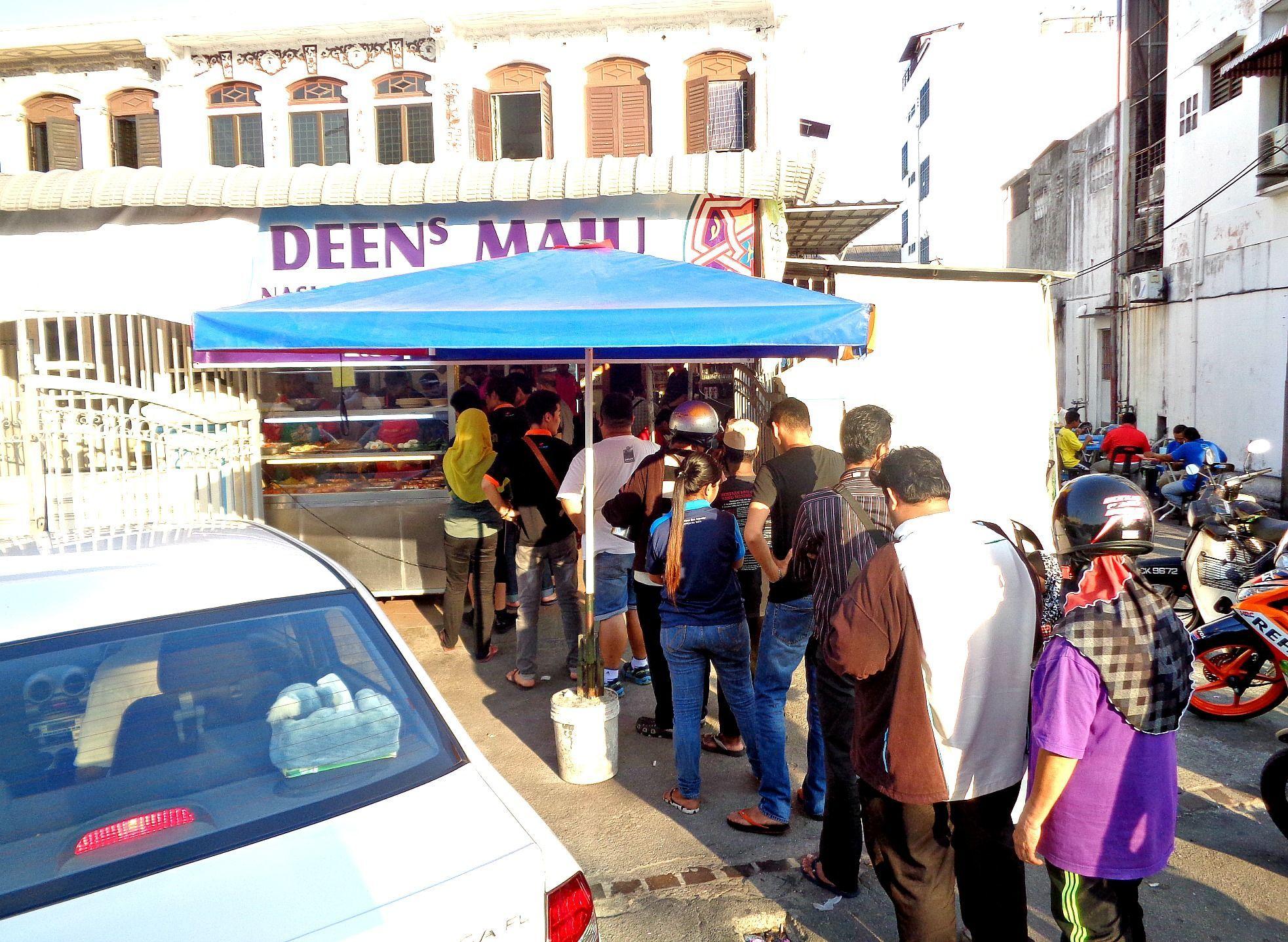 Penang Malaysia Deen Maju Nasi Kandar At Jln Gurdwara Brick Kiln Road Asia Pacific Hungry Onion