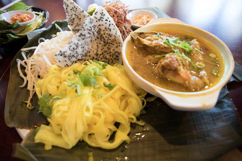 San Jose Mi Quảng Co Thảo The Very Good Mi Quang Ga Sf Bay Area California Hungry Onion