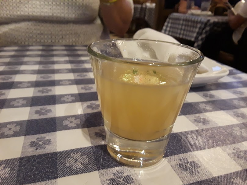 Old Clam - clam juice shot