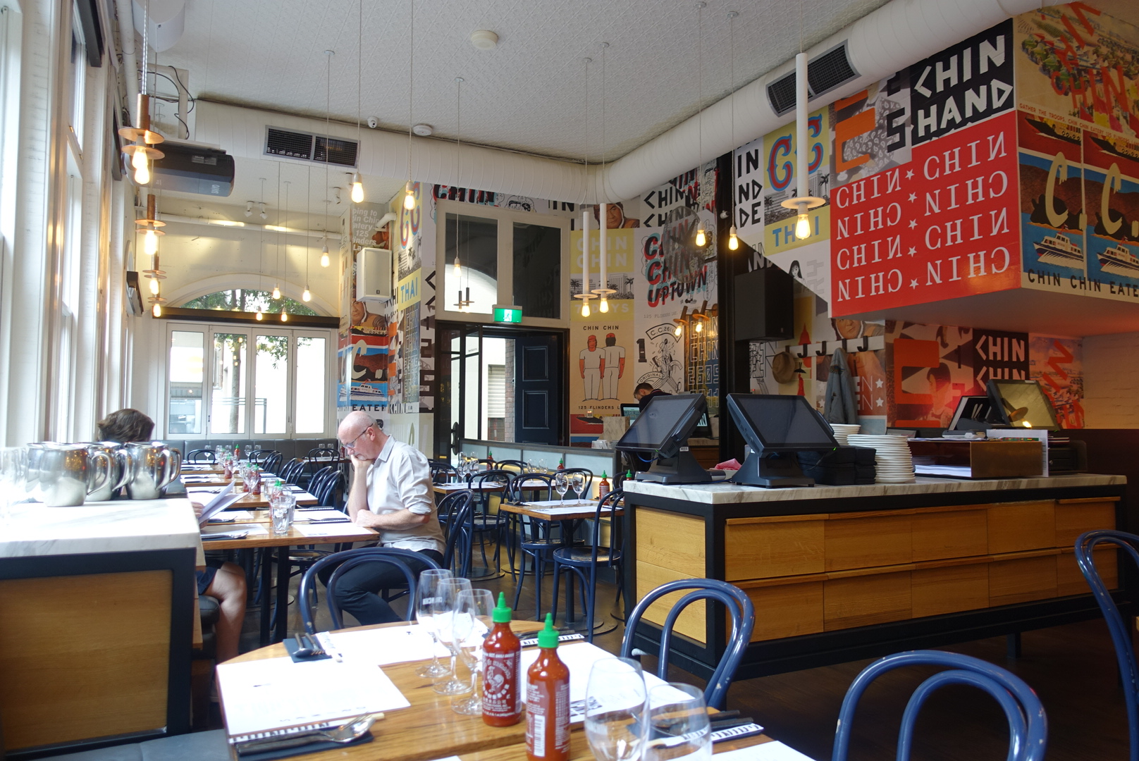 Cotta Cafe Melbourn : Melbourne modern asian at chin chin flinders lane asia pacific