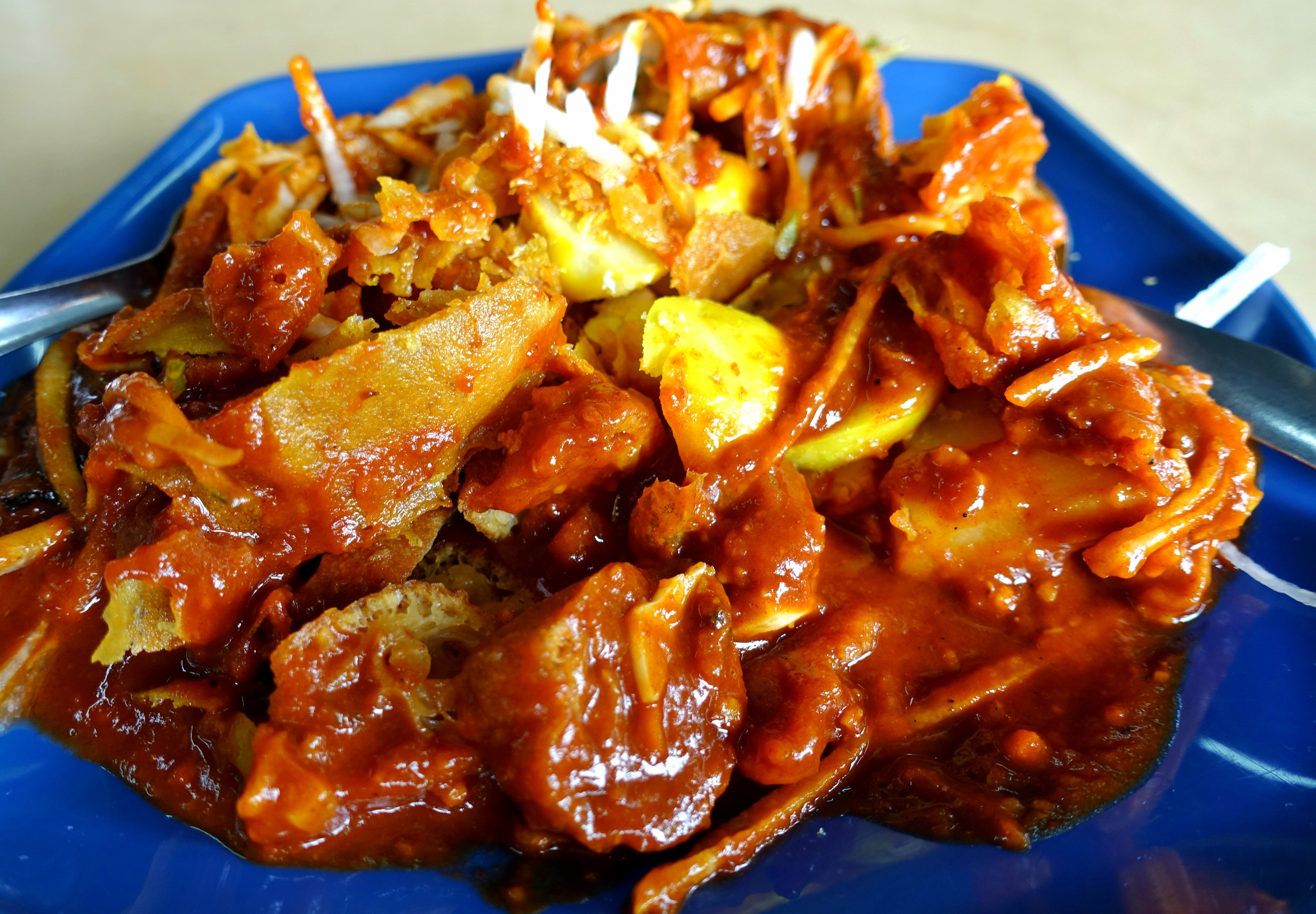 [Penang] Edgecumbe Road Mee Goreng & Pasembur - Asia Pacific - Hungry Onion
