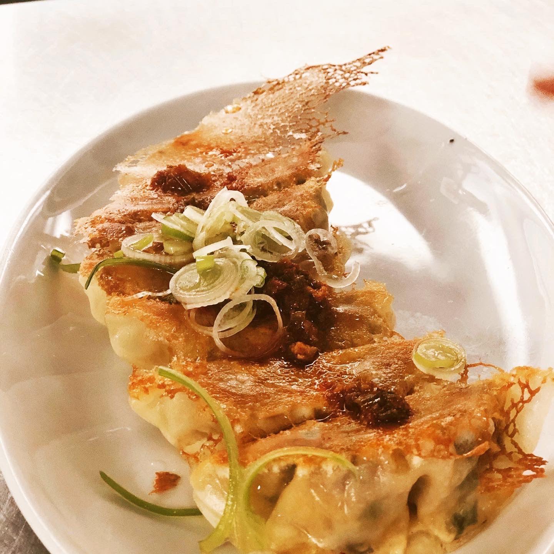 Gyoza from Mimi's Chūka Diner.