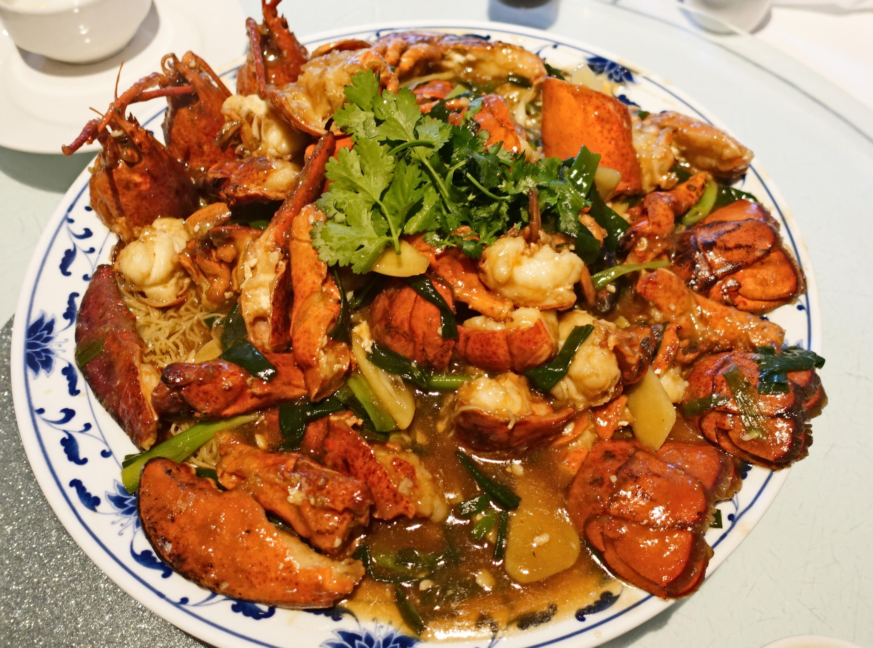 London Lobster Noodles At The Mandarin Kitchen Queensway