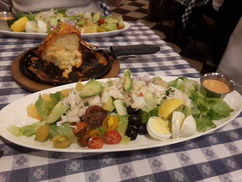 Old Clam - fresh dungeness crab louis salad