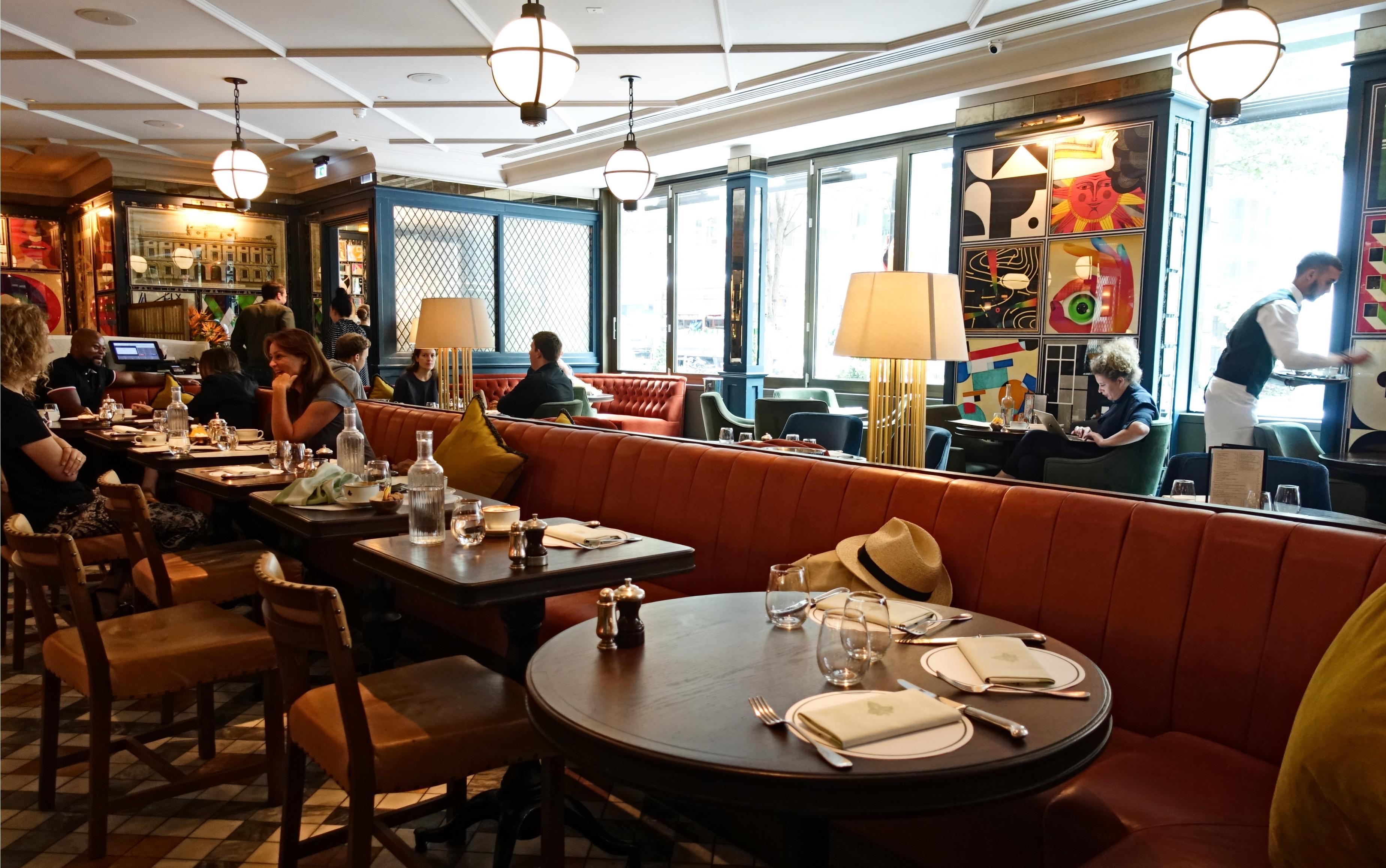London] Full English breakfast at The Ivy Soho Brasserie - U.K. ...